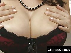 Tampa varm kone charlee chase kuk teases du!